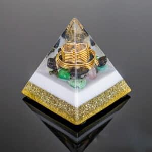 Orgonite Personalizado Mini Pirâmide 7cm