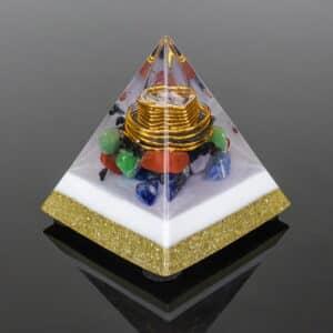Orgonite Personalizado Pirâmide 10cm