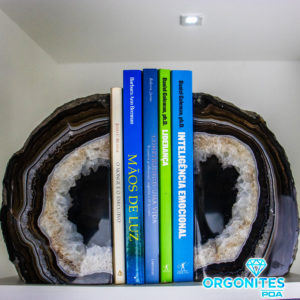 Porta Livro De Ágata 6.100kg