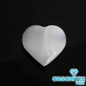 Selenita em Formato de Coração