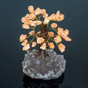 Árvore De Calcita Orquídea 15 galhos