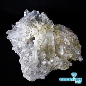 Drusa de Cristal de Quartzo Bruto